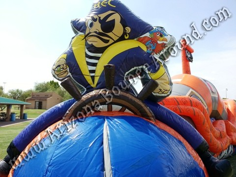 Buccaneers Revenge Obstacle Course Rental