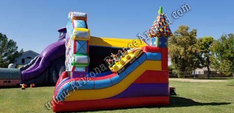 Carnival Birthday Party Bounce House Rental Ideas in Phoenix Arizona