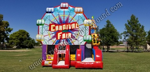 Carnival Fair Bounce House Rental Phoenix Arizona