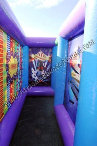 Carnival Fun House Inflatable Maze Rental Inflatable