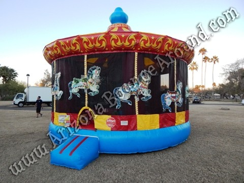 Carnival themed  bounce house Phoenix