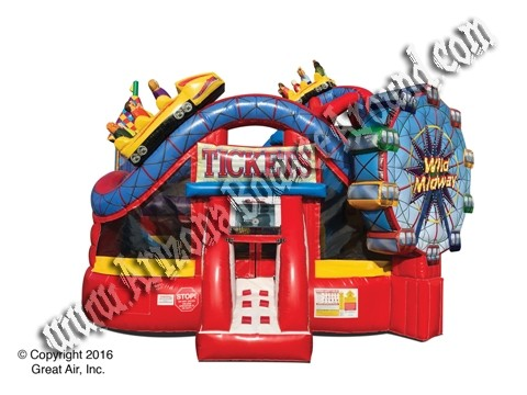 Carnival themed Bounce House Rental Phoenix Arizona