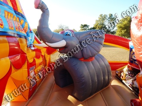 Carnival themed inflatable rentals for parties and events in Arizona