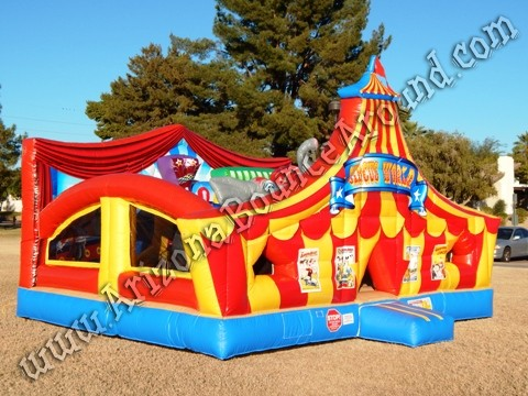 Carnival themed inflatable rentals in Scottsdale