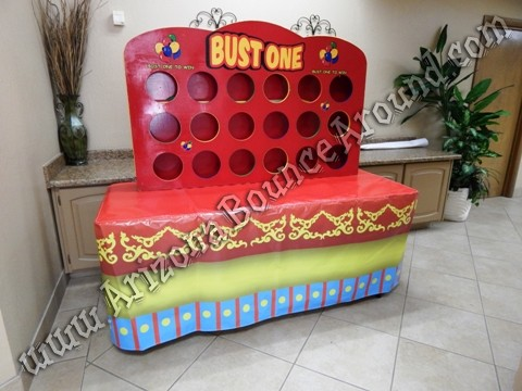 Carnival themed table covers for rent in Phoenix Arizona