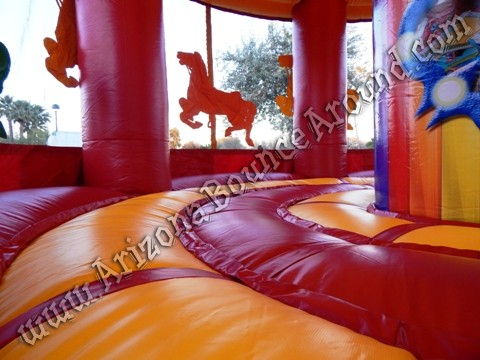 20 Carousel Bounce House Rental Carnival Themed