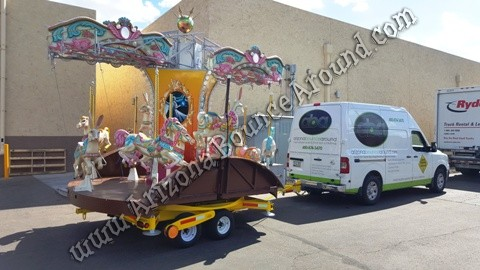 Carousel for rent in Arizona