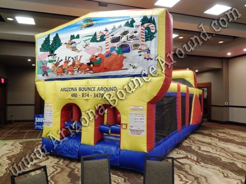 Christmas Obstacle Course rentals