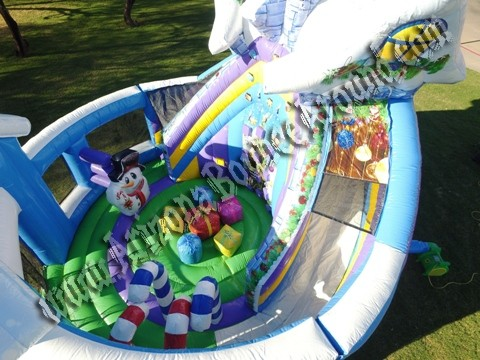 Christmas Themed Bounce House Rental Phoenix Arizona