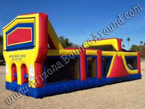 Christmas themed inflatable obstacle course rentals AZ