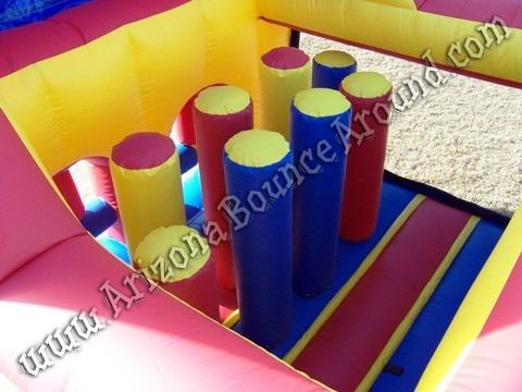 Christmas themed inflatable obstacle course rentals Arizona