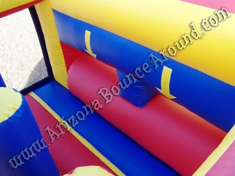 Christmas themed inflatable obstacle course rentals Phoenix