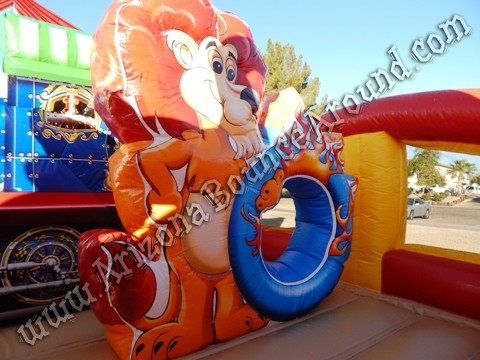 Circus themed inflatable rentals in Phoenix
