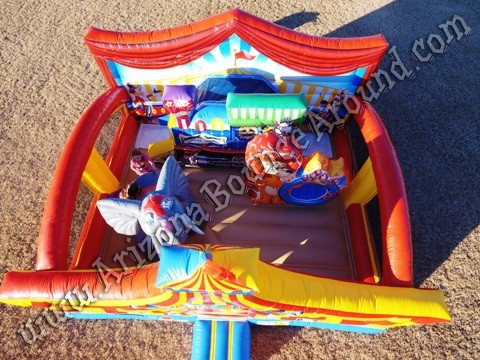 Circus themed inflatable rentals in Scottsdale