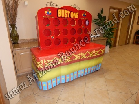 Circus themed table cloths for rent