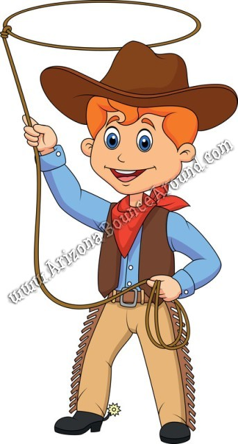 Cowboy party games and activities for children Phoenix Arizona