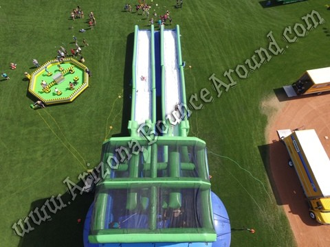 Inflatable Meltdown game rental Phoenix AZ