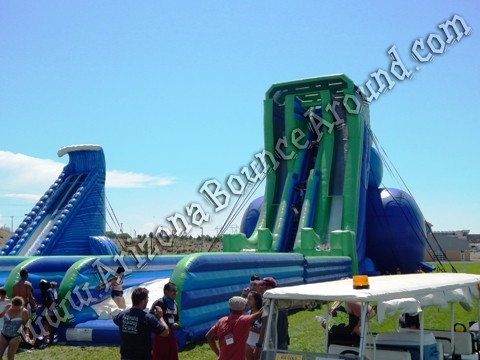 big inflatable slides for rent in California