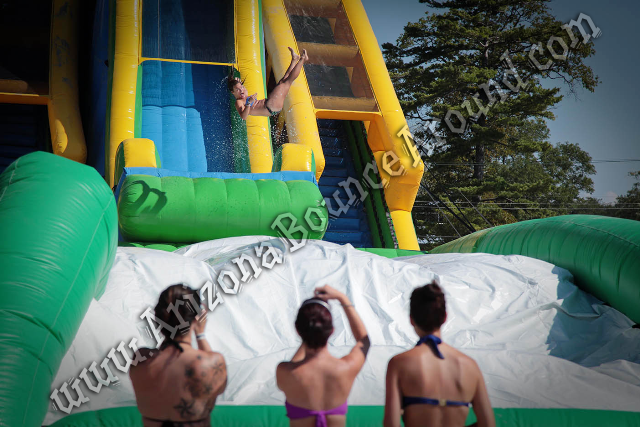 Drop Kick Water Slide Rentals AZ, CA