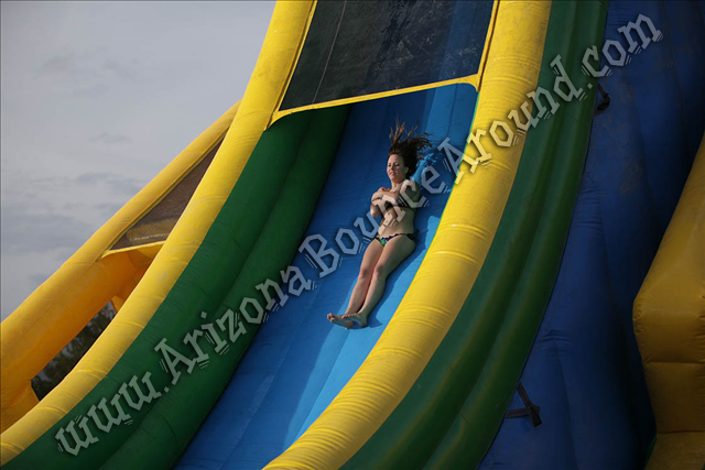 Drop Kick Water Slide