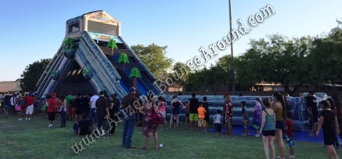 Dual Lane Water Slide Rentals in Phoenix, Denver