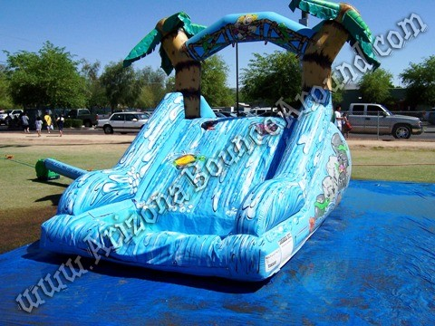 Dual lane water slide rental for small kids Phoenix Arizona