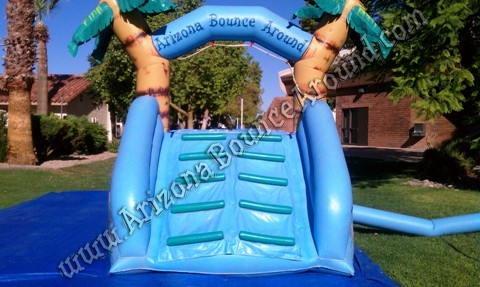 Dual lane water slide rental for small kids Scottsdale Arizona