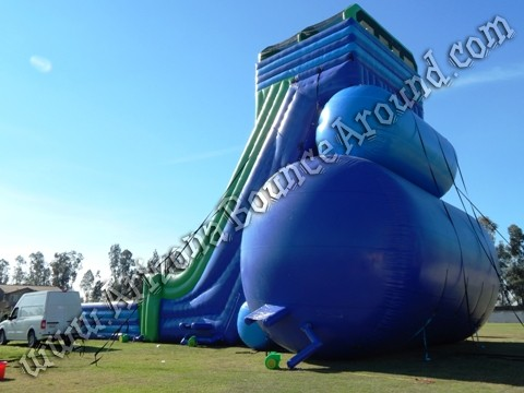 Duel lane drop kick water slide rental Arizona