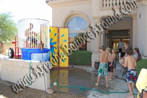 Rent dunk tanks and dunking booths in Phoenix AZ