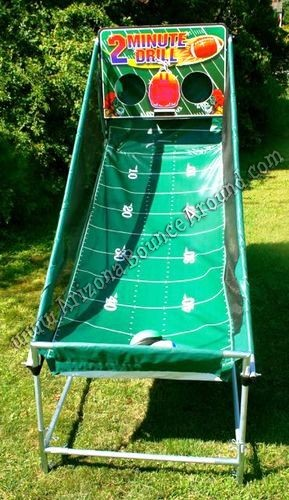 Electronic Football throwing games for rent in Arizona