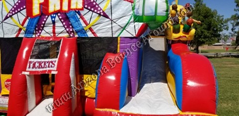 Fair themed Bounce House Rental Phoenix Arizona