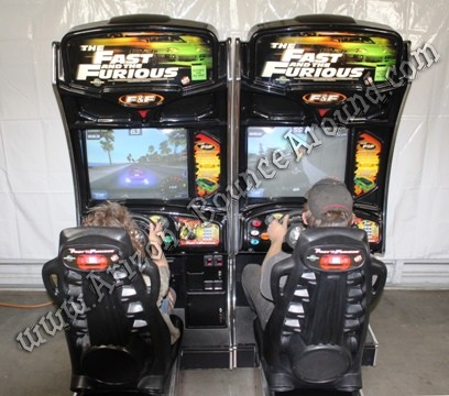 Fast and Furious sit down driving game rentals in Phoenix, Scottsdale Arizona