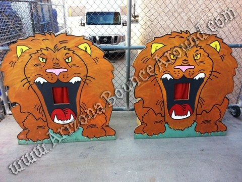 Feed the Lions Carnival Game rental Arizona