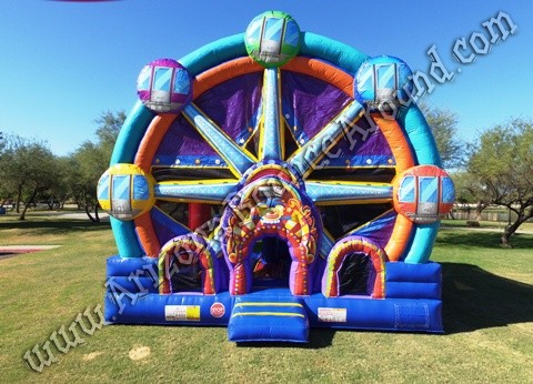 carnival themed bounce house rentals AZ