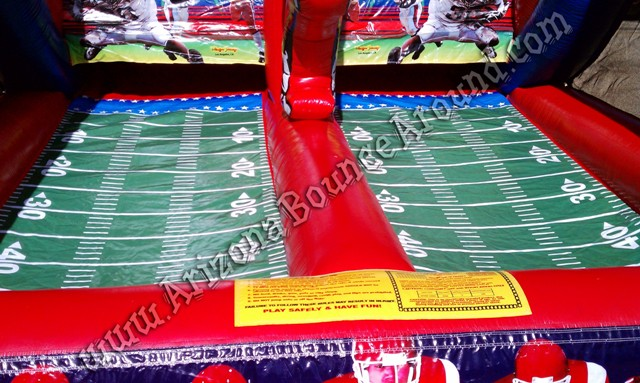 Football carnival game rental Phoenix, Scottsdale Arizona
