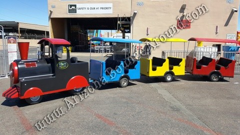 Gas Powered Trackless Train Rental Phoenix AZ