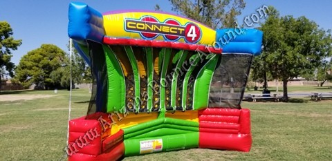 Giant Basketball Connect 4 game rental Phoenix Arizona