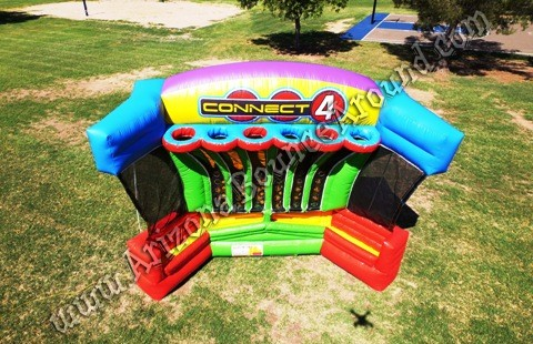 Giant Connect 4 games for rent in Phoenix Arizona