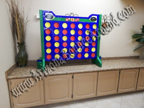 Giant connect 4 game rental Phoenix, Scottsdale AZ