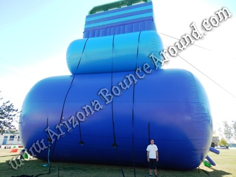 Giant inflatable water slides for parties and events in Arizona