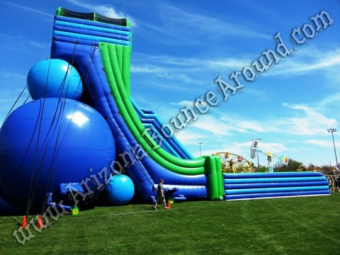 Giant water slide rental for events