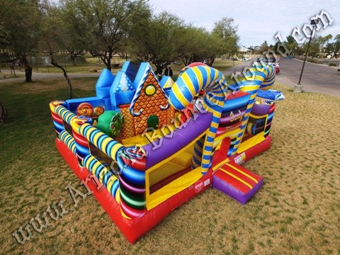 Gingerbread House Bounce House Rental Phoenix Arizona