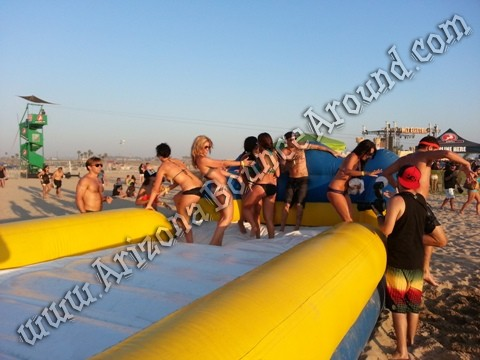 Hippo water slide for rent
