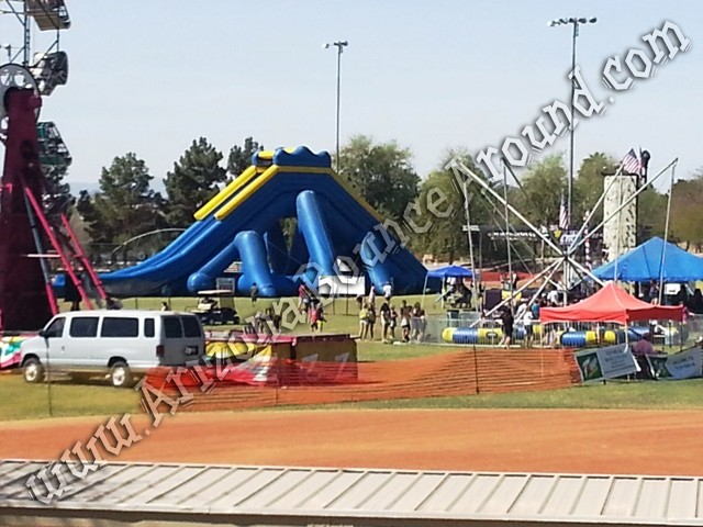 Hippo water slide rental Arizona, California, Nevada, Colorado