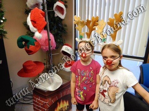 Holiday photo booths for rent in Arizona