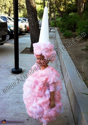 Human Cotton Candy costume