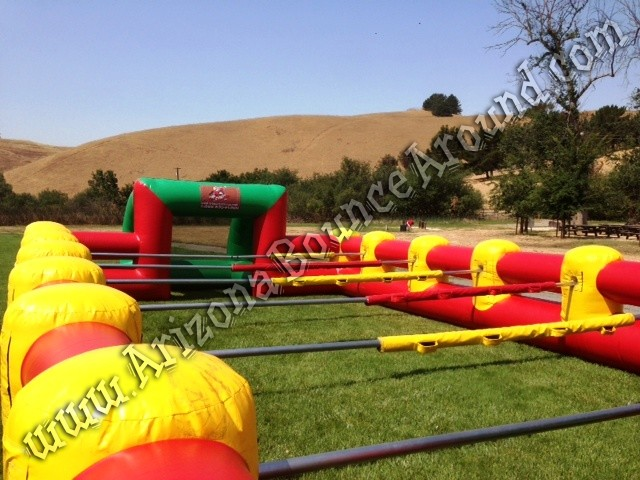 Human Foosball Inflatable Rental Phoenix Arizona