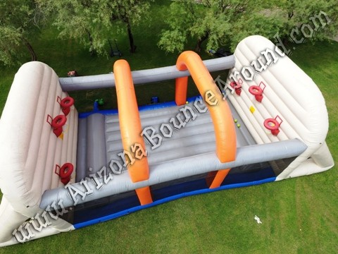Inflatable Basketball Court Rental Phoenix AZ