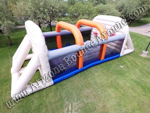 Inflatable Basketball Court Rental Phoenix