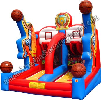 Inflatable Basketball Double Shot game rental Phoenix Arizona